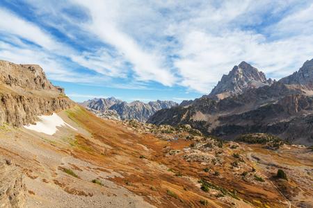 teton: Grand Teton National Park Wyoming USA