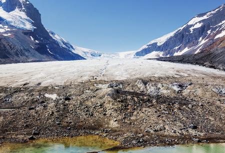 edith: Athabasca Glacier in Jasper National Park, Canada