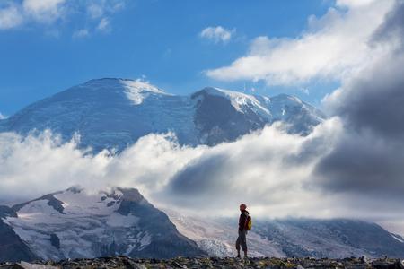 mt: Hike on Mt Rainier