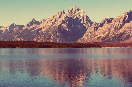 usa: Grand Teton National Park, Wyoming, USA. Stock Photo