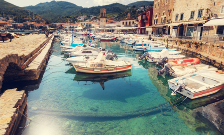greek island: Hydra Island, Greece Stock Photo