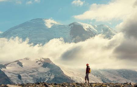 rainier: Hike on Mt Rainier