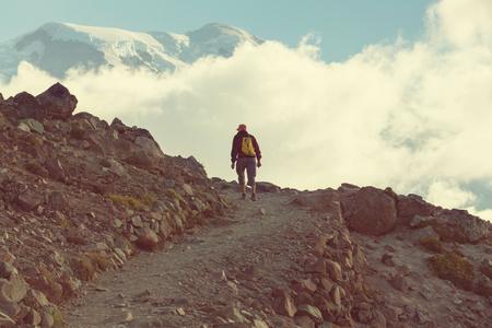 MOUNT RAINIER: Hike on Mt Rainier