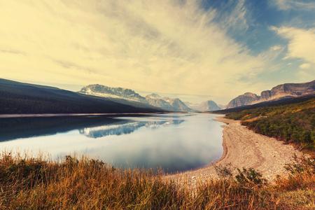 np: Autumn in Glacier NP, Montana, USA