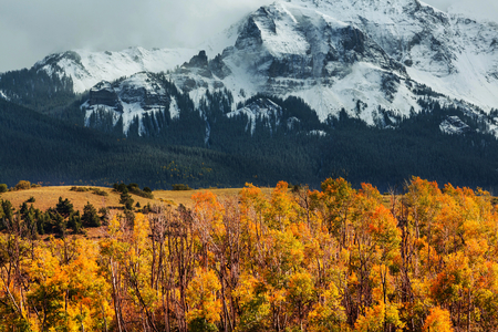 majesty: Autumn in Colorado mountains