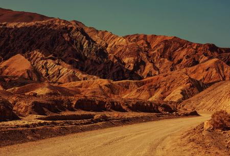 terrain: Death valley National Park, California Stock Photo