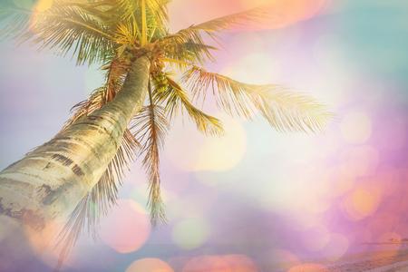serenity: Serenity tropical beach, instagram filter Stock Photo