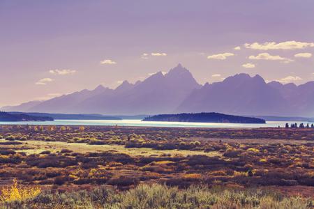 teton: Autumn in Grand Teton National Park, Wyoming