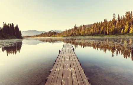 fall scenery: Lake