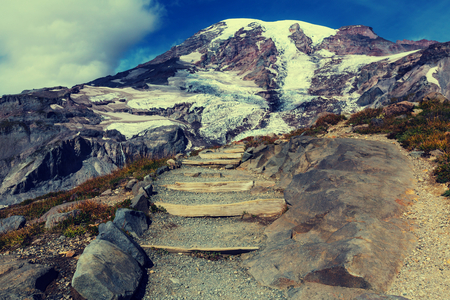 mount: Mount Rainier national park, Washington