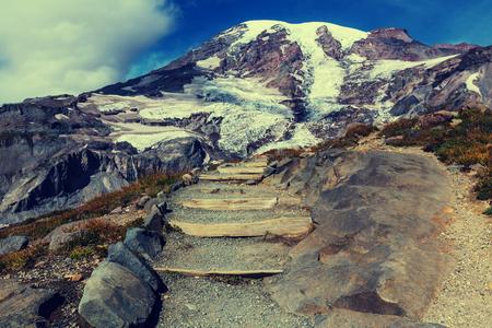 mount rainier: Mount Rainier national park, Washington