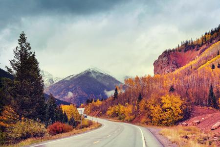 colorado mountains: Autumn in Colorado mountains
