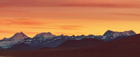 denali: Landscapes on Denali highway, Alaska.