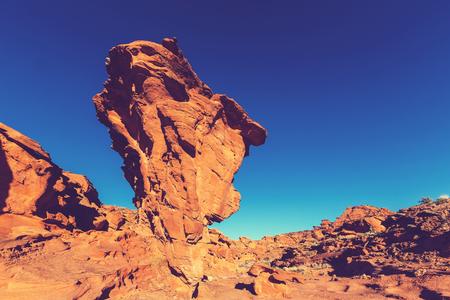 sandstone: Sandstone formations in Nevada