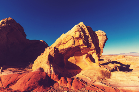 desert landscape: Valley of Fire State Park, Nevada, USA