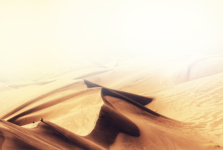arena: Gran dunas del Parque Nacional, Colorado, EE.UU.