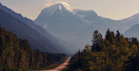 columbia: Mount Robson,  British Columbia, Canada
