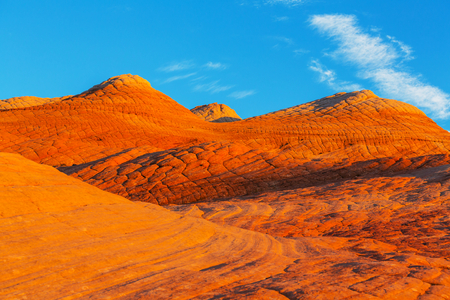 grandiose: Sandstone formations in Utah, USA. Yant flats