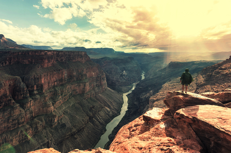 Grand Canyon landscapes Stock Photo