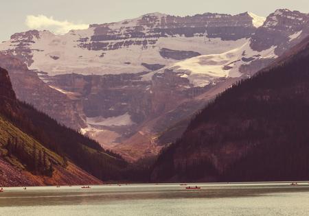 banff national park: Lake Louise in Banff National Park, Alberta, Canada