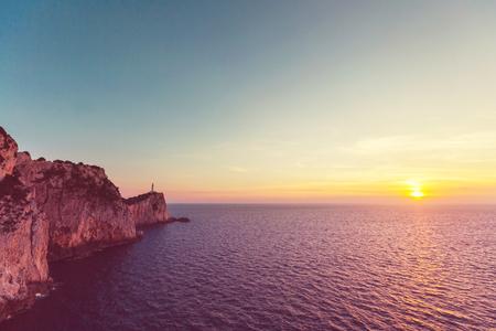 ionio: Lefkada town in Greece