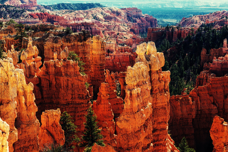 cliffs: Bryce Canyon Stock Photo