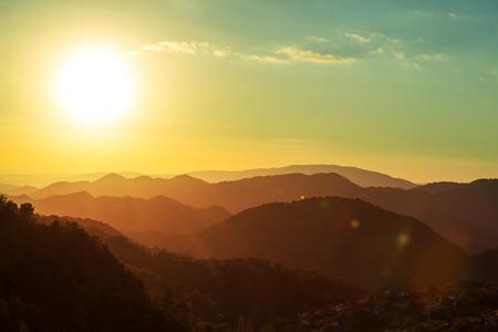 ridgeline: Mountains in Cyprus