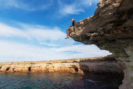 picada: Orilla del mar hermosa en Chipre