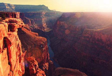 majesty: Grand Canyon landscapes Stock Photo
