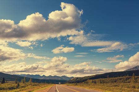backwoods: Highway in Alaska