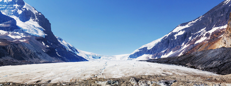 edith: Athabasca Glacier in Jasper National Park, Canada