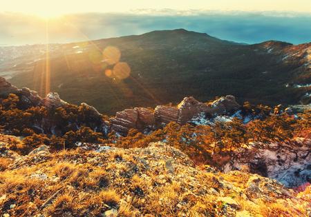 melodious: Crimean mountains