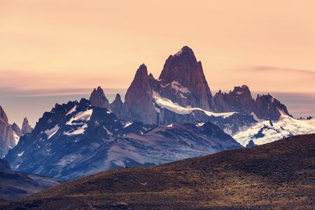 fitz: Cerro Fitz Roy in Argentina