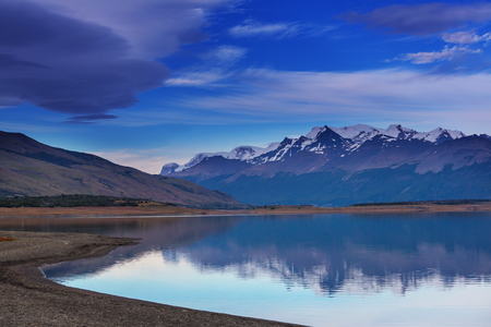 patagonia: Patagonia landscapes in Southern Argentina Stock Photo