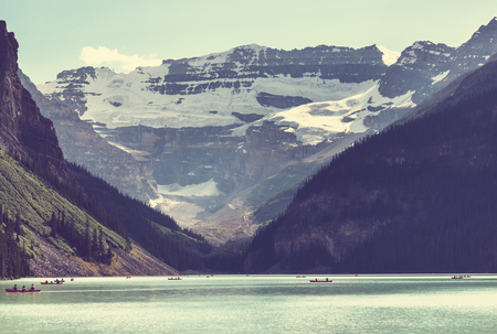rocky mountain national park: Lake Louise in Banff National Park, Alberta, Canada