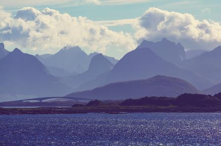 lofoten: Lofoten islands, Norway Stock Photo