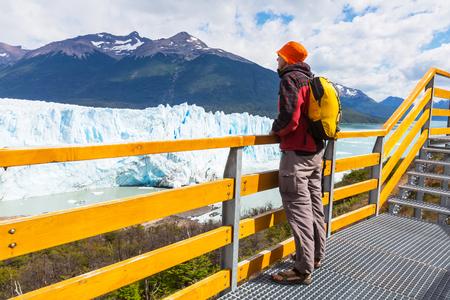 lake argentina: Perito Moreno glacier in Argentina