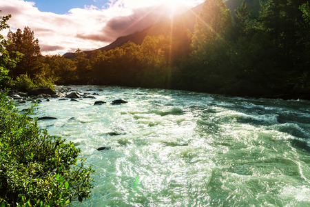 whitewater: River in Norway