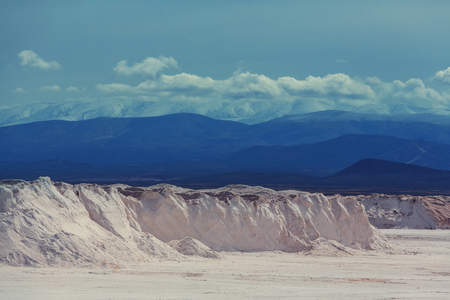 salina: Salt desert in the Jujuy Province, Argentina