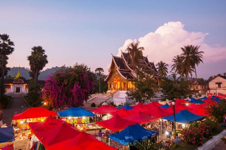 Luang Prabang vue de dessus, le Laos Banque d'images - 52498235