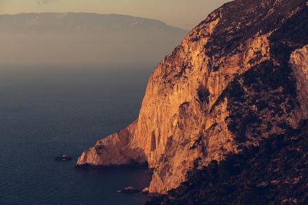 islands: Beautiful sea landscapes on Zakynthos Island in Greece
