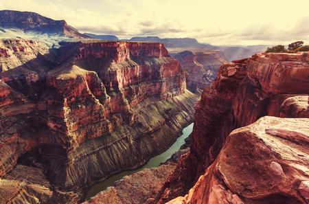 그랜드 캐년의 아름 다운 풍경 스톡 콘텐츠