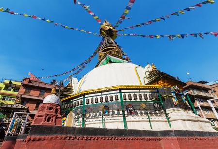 buddhist stupa: Buddhist stupa in Nepal
