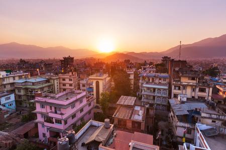 kathmandu: Kathmandu city in Nepal Stock Photo