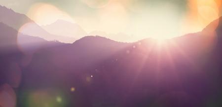 melodious: Mountain silhouette