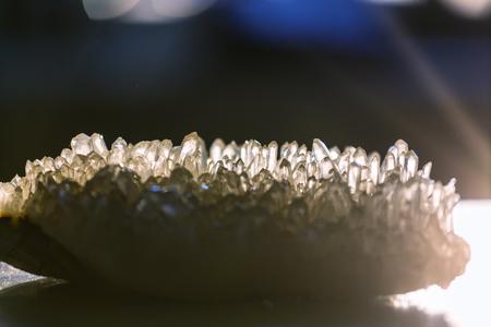 Natuurlijke minerale Crystal close up Stockfoto
