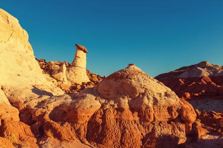 nevada: Sandstone formations in Nevada