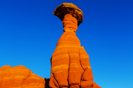 formations: Sandstone formations in Nevada, USA Stock Photo