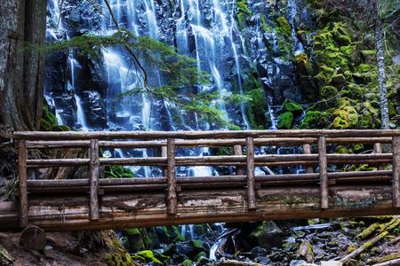 Ramona falls in Oregon, USA