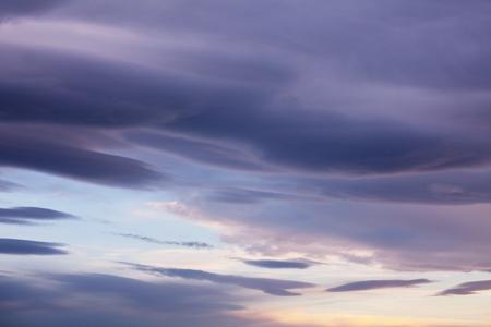 Sunset clouds Stok Fotoğraf
